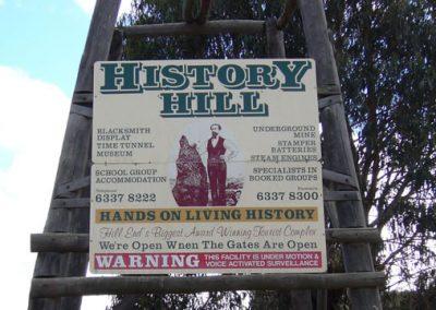 History Hill Entrance