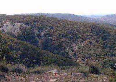 Hawkins Hill from Merlin Lookout